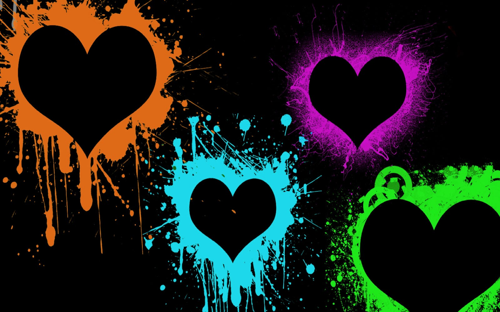 Love Mobile Wallpapers And Backgrounds: Wallpapers: Love Paint Wallpapers