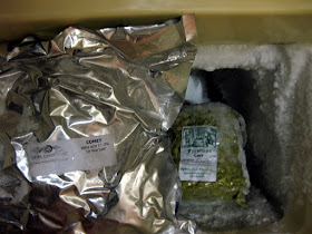 A pound each of Comet and Citra hops.