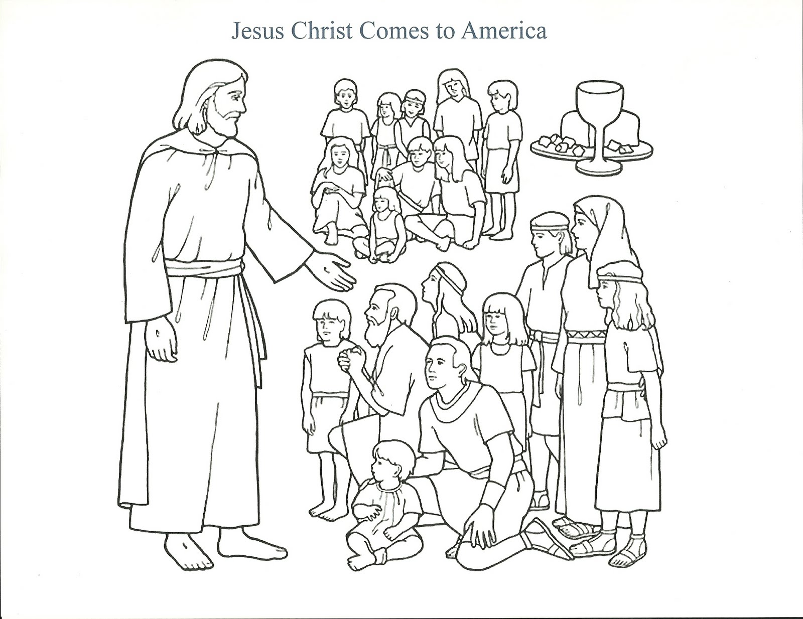 Free Choose The Right Lds Coloring Pages