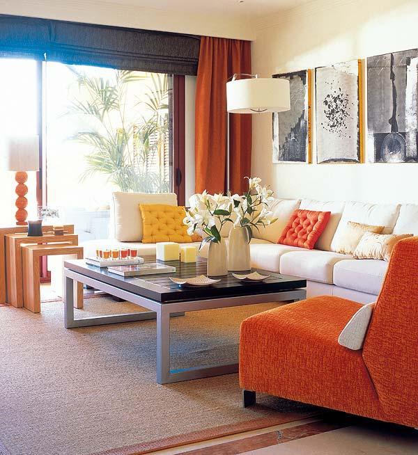 Muebles y decoraci n de interiores mesas de centro y - Mesas auxiliares para salon ...