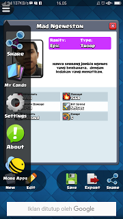Clash Royale Card Creator For CR Mod Apk Terbaru 2017 Download Gratis - wasildragon.web.id
