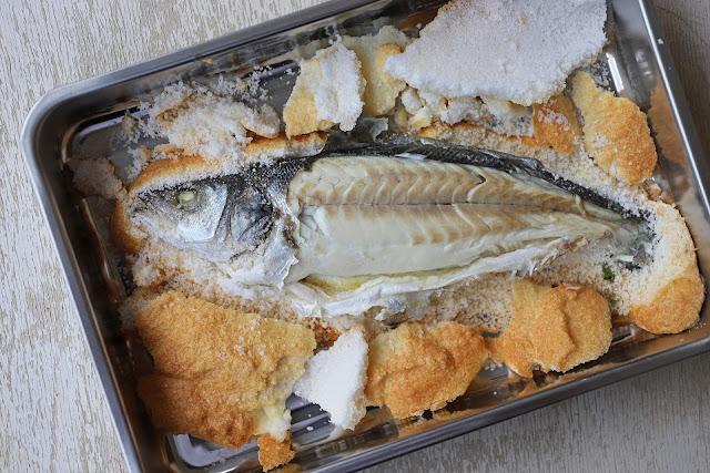 Συνταγή για Ψάρι σε Κρούστα Αλατιού