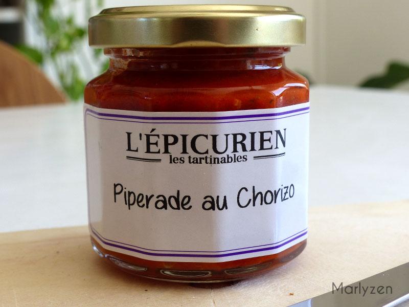 Piperade au chorizo de L'épicurien