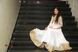 Telugu Actress Mahima Makwana Stills in White Desginer Dress at Venkatapuram Movie Logo Launch  0242.JPG