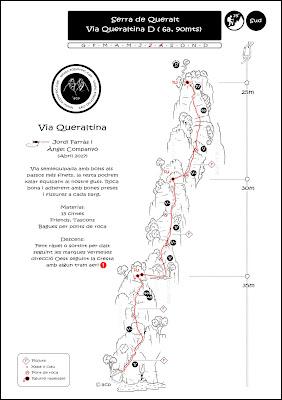 Ressenya Queraltina de Toporoc via llarga facil de protegir