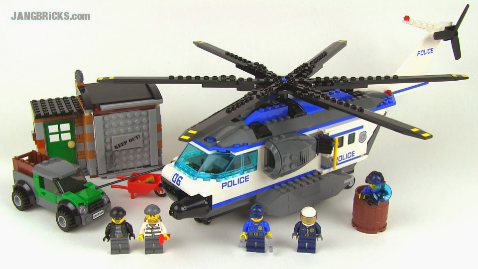 LEGO City 60047 Police Station & 60046 Helicopter ...