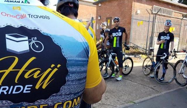 Subhanallah, Warga Inggris Naik Sepeda ke Makkah untuk Ibadah Haji, Hanya Butuh Waktu 5 Minggu