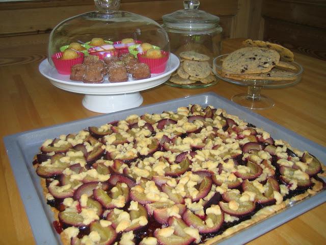 Friesischer Pflaumenkuchen