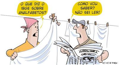 Resultado de imagem para analfabetismo no brasil segundo ibge