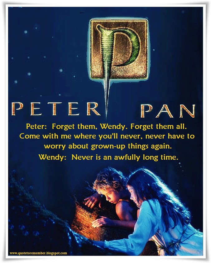 Peter Pan Quotes: [Peter Pan]: Second To The Right, And Then Straight On