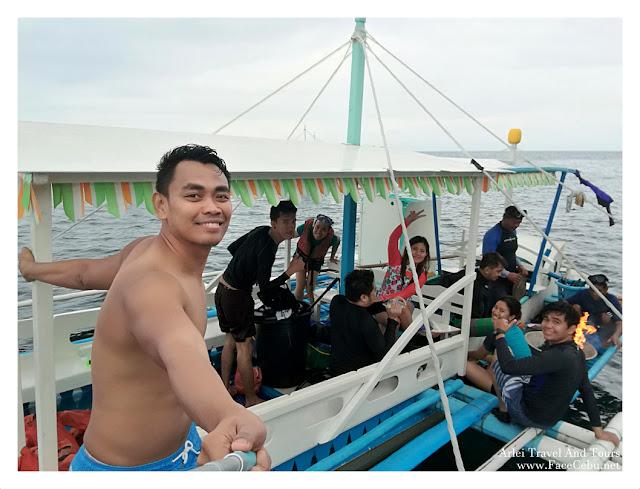 CBS Bloggers at Pescador, Moalboal Cebu