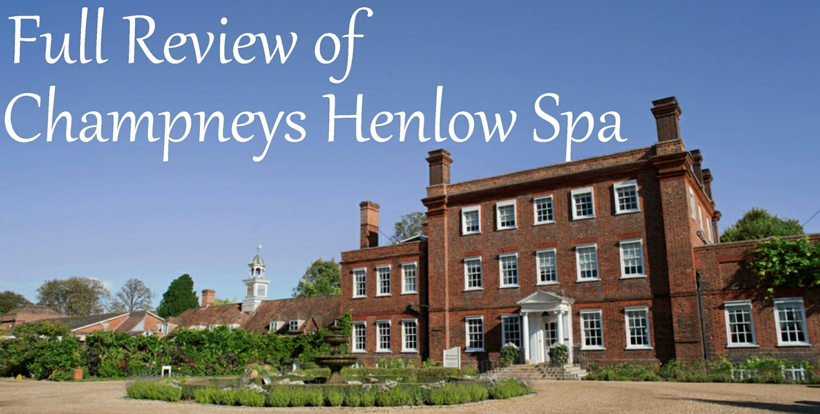 Review of Champneys Henlow Health Spa
