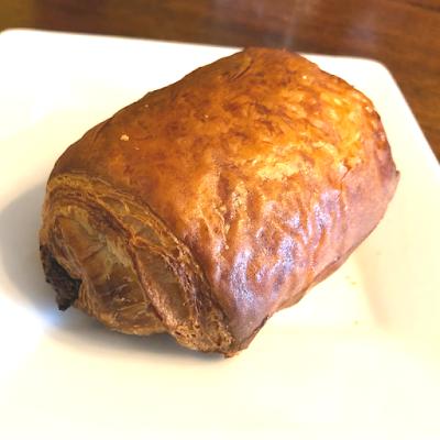 Chocolate croissant heaven!