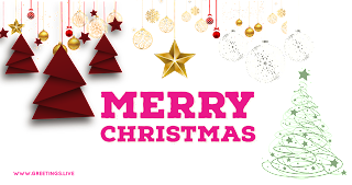 Latest creative Merry Christmas png  greetings live