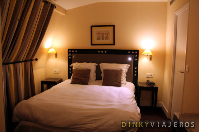 Habitación del hotel Villa Brunel