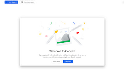 Chrome Canvas from Google is a useful app for Quick Graphics