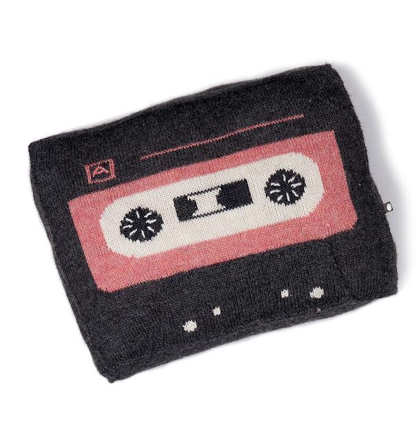 music tape pillow