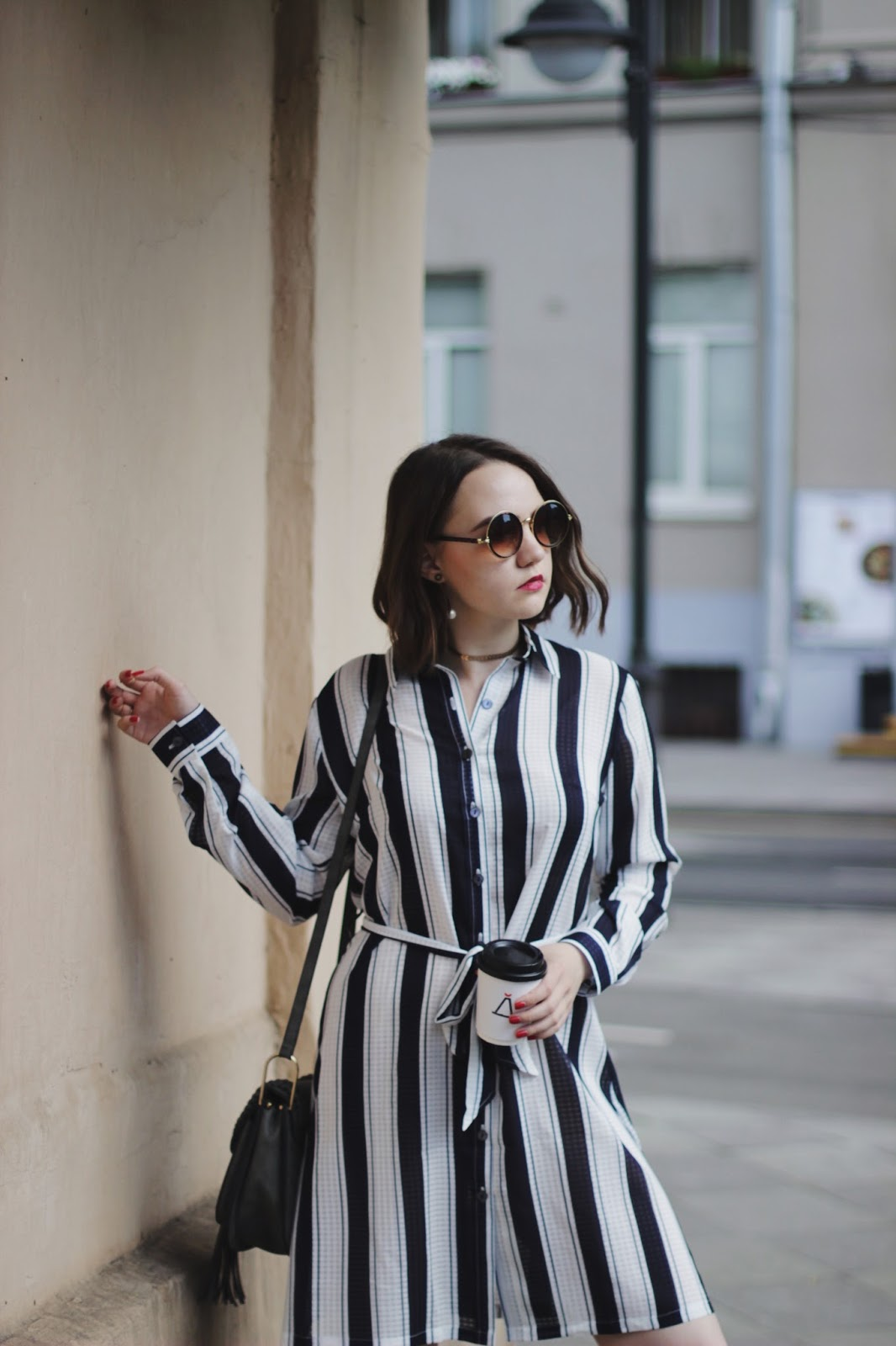 Fashion Blogger | Workwear | Striped Dress