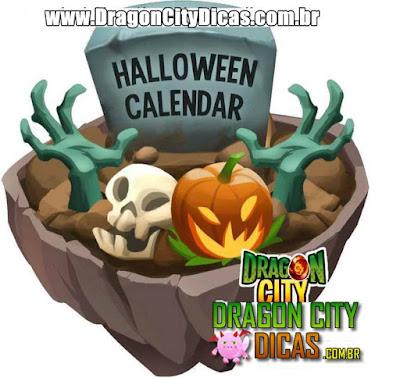 Calendário do Halloween - Em breve!