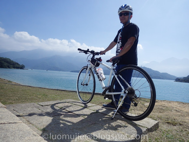 Sun Moon Lake biking
