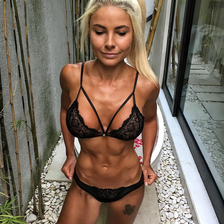 Jaz Correll fitness competitors