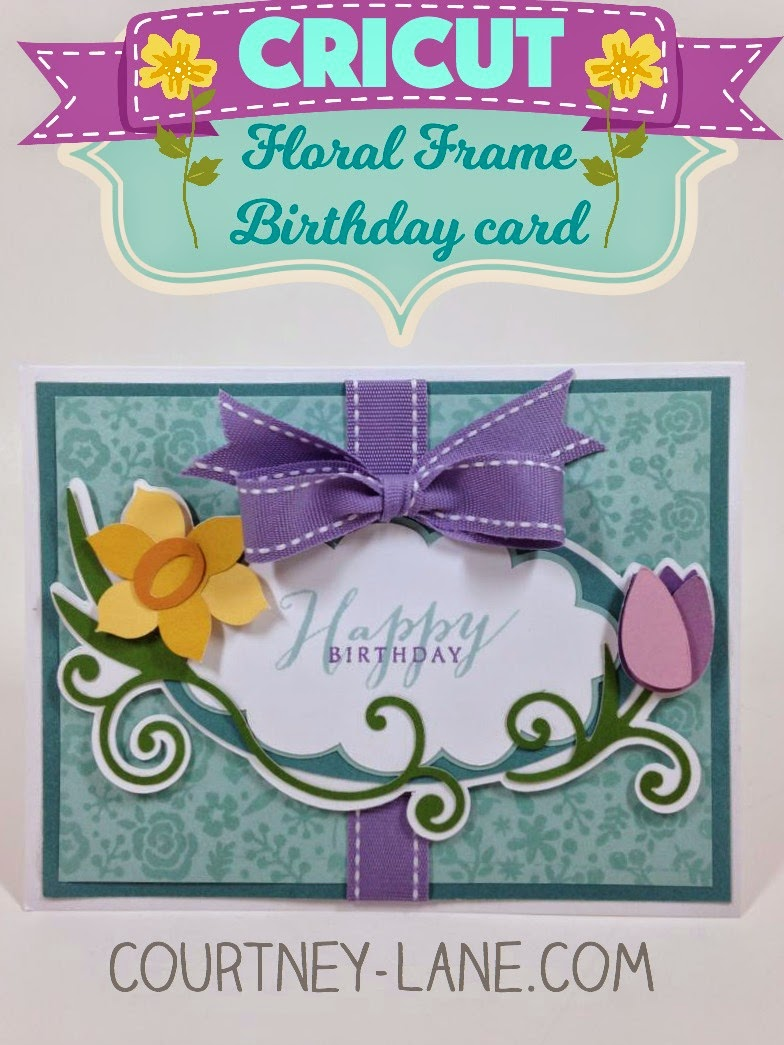 flower label card