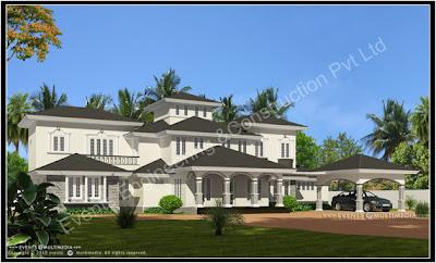 Evens Construction Pvt Ltd 3D Plan Gallery