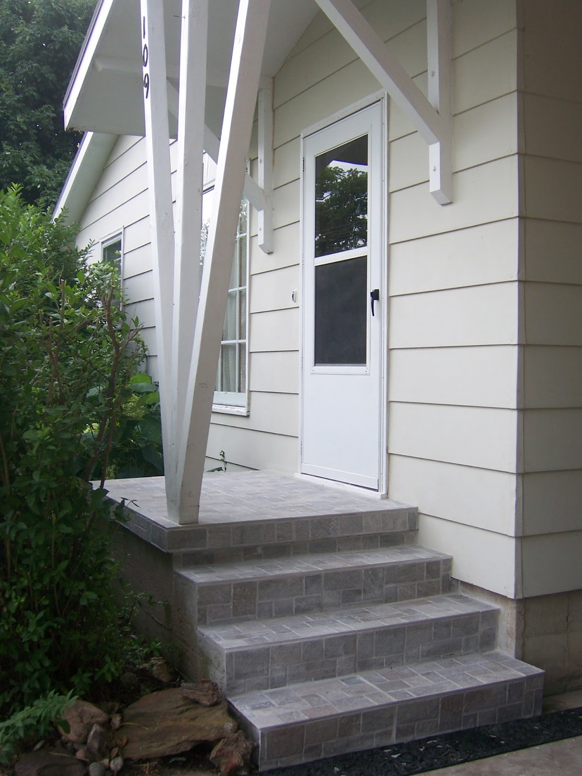 Family Tree: How to update exterior concrete steps ...