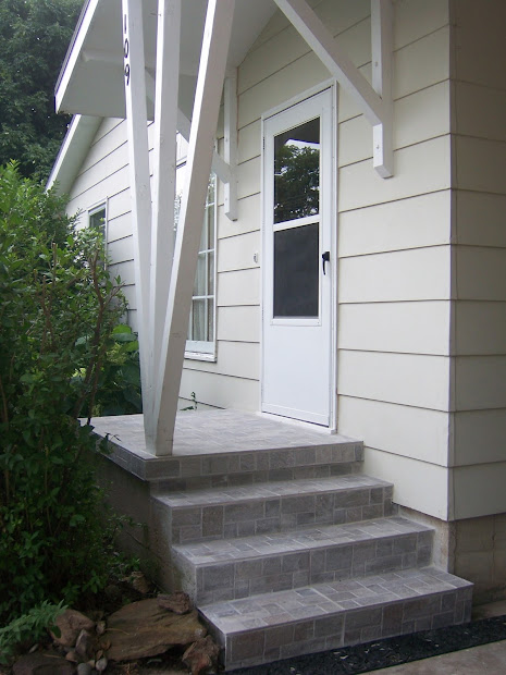 Family Tree Update Exterior Concrete Steps