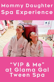 Glama Gal Tween Spa VIP & Me Package Blog Review