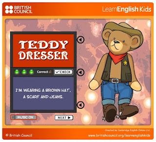 imparare i vestiti in inglese