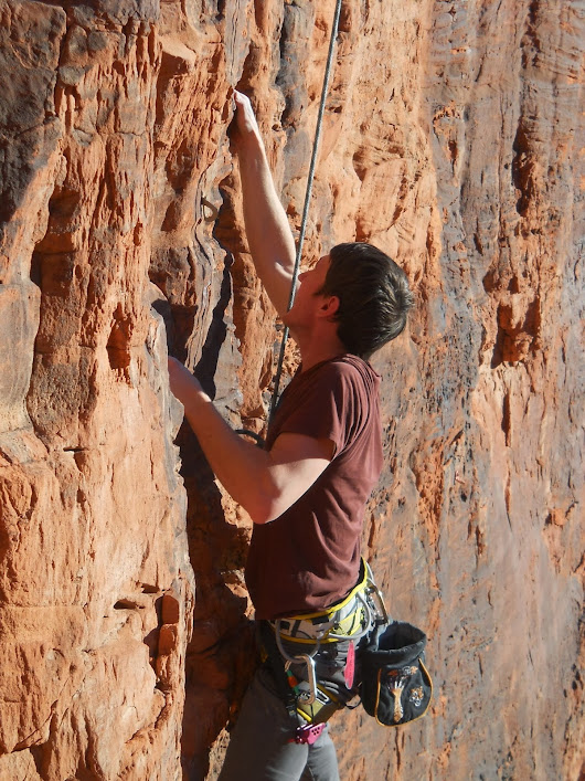 How climbing changed me: looking back on a year-ish of climbing