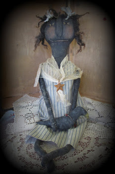 Primitive Black doll Mrs Baker