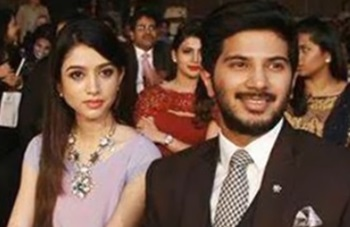 Actor Dulquer Salmaan Family Photos with Wife Amal Sufiya Pics