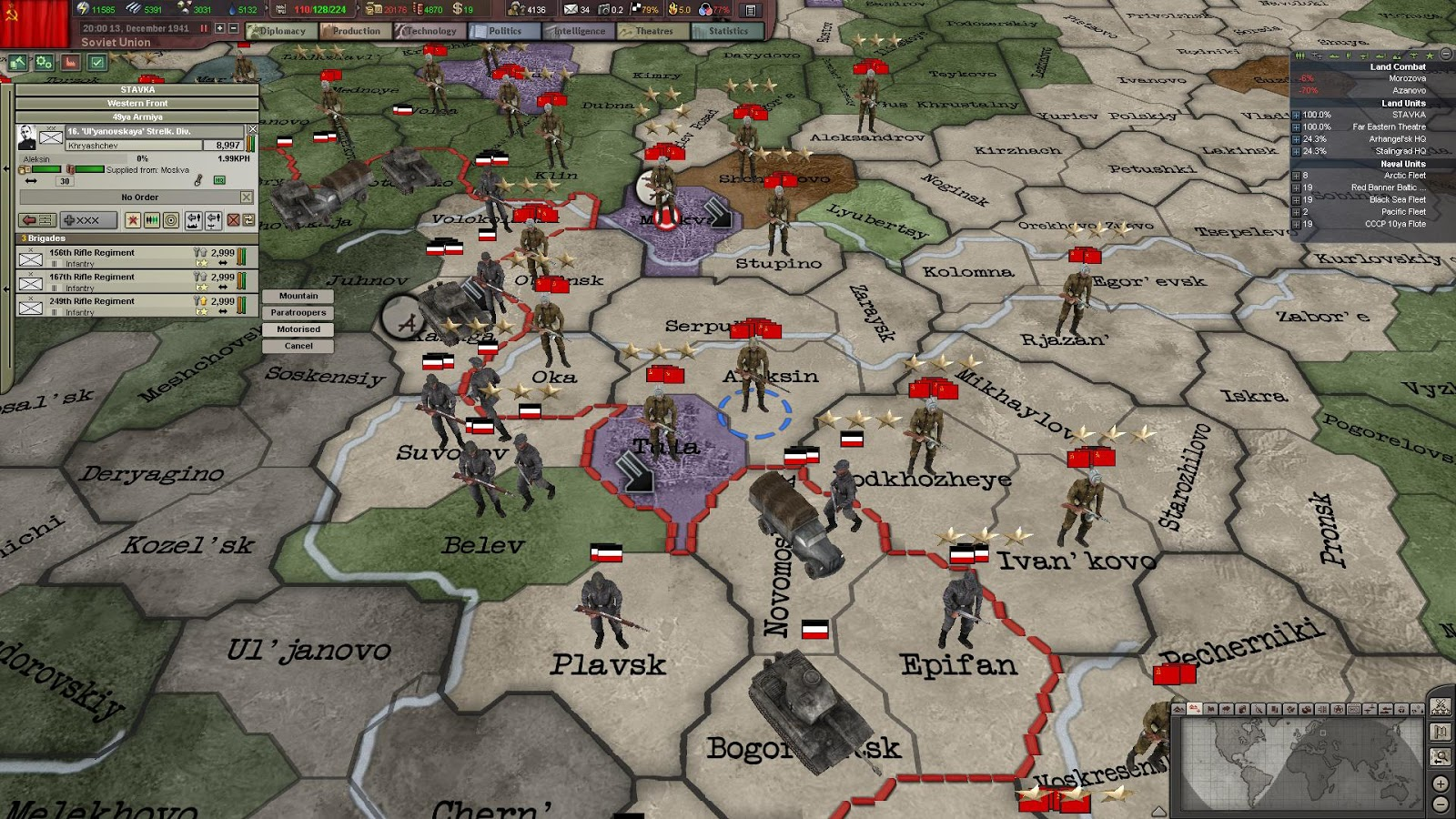 hearts of iron iii collection pc pl digital 6 - Hearts of Iron III + DLC Collection