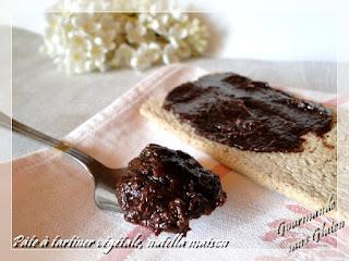 Pâte à tartiner végétale, nutella maison, sans gluten, sans lactose