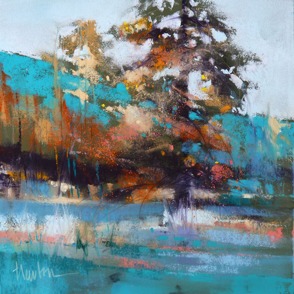 BARBARA BENEDETTI NEWTON PAINTINGS: Leavenworth Pine