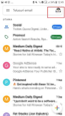 Ganti Akun Gmail