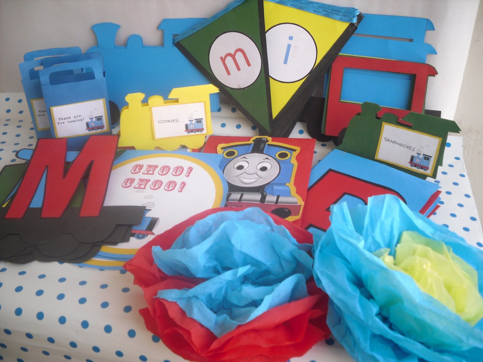 Thomas The Train Party With Free Printables