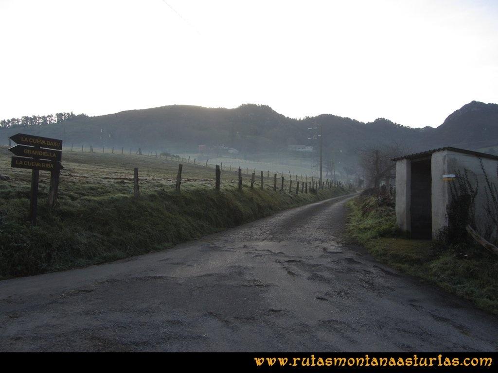 Pico Mua PR AS 46 Camino a La Cueva Riba