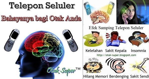 bahaya radiasi telepon seluler bagi otak manusia