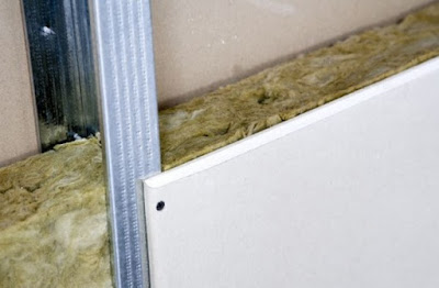 Installing drywall partition and how to drywall, step by step