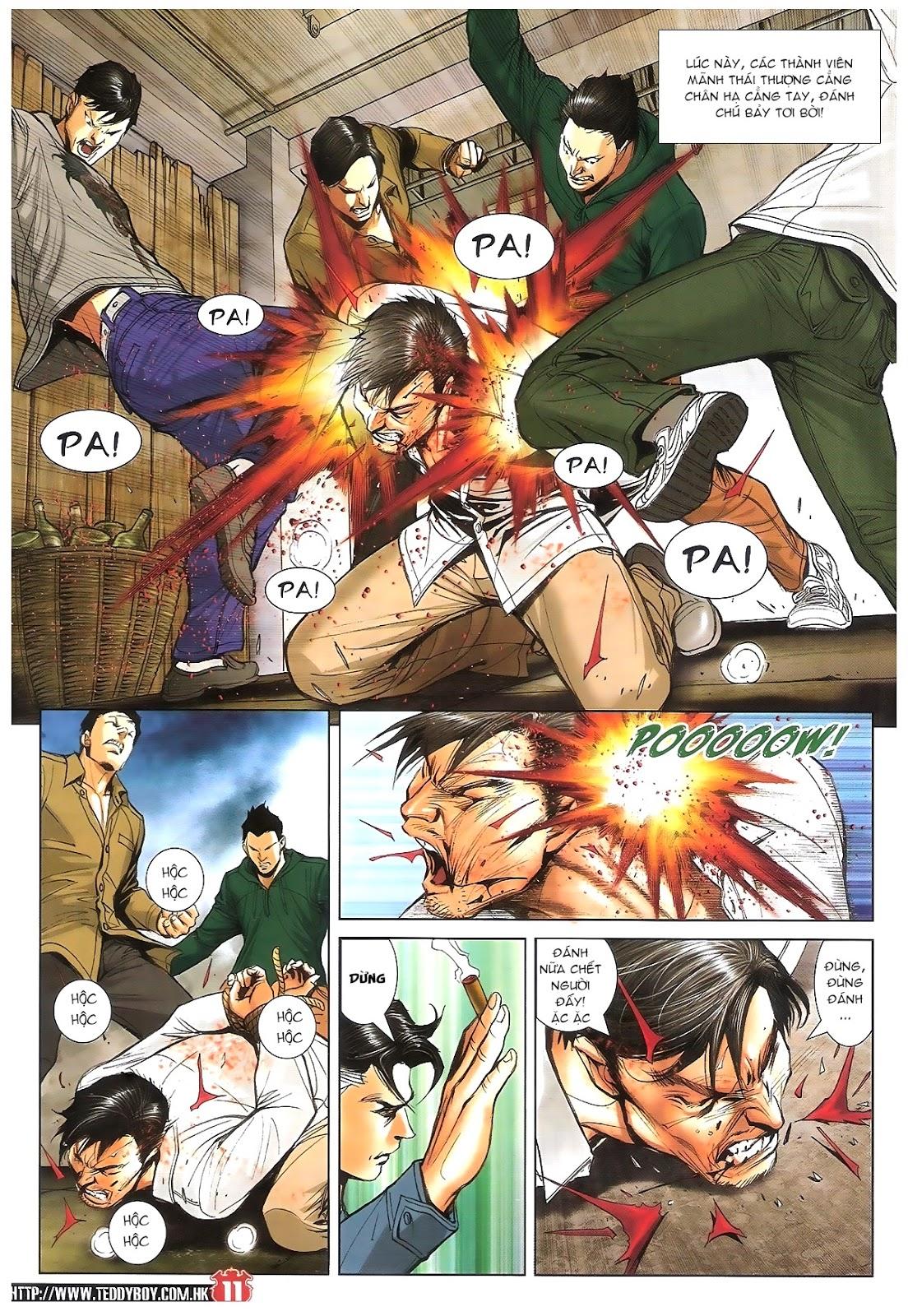 Người Trong Giang Hồ chapter 1696: giết vào vượng giác trang 10