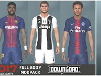PES 2017 Full Body Mod Like PES 2019