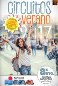 Marsol catálogo de viajes Verano 2017