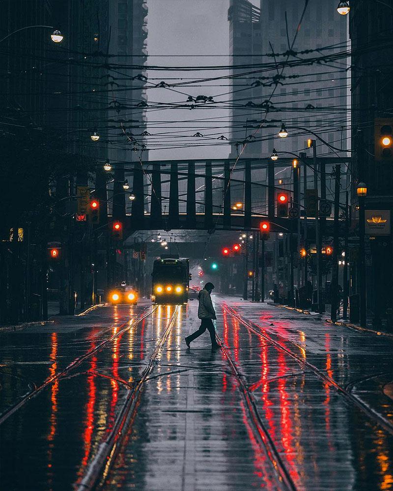 Toronto at Night: Photos by Bora