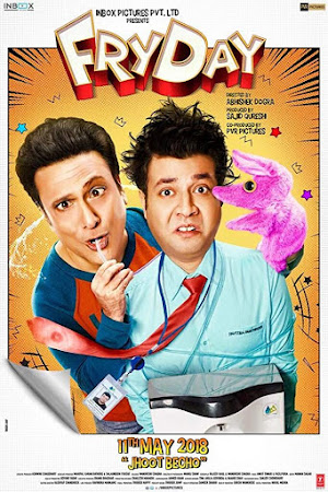 Poster Of Bollywood Movie FryDay 2018 300MB Pdvd Full Hindi Movie