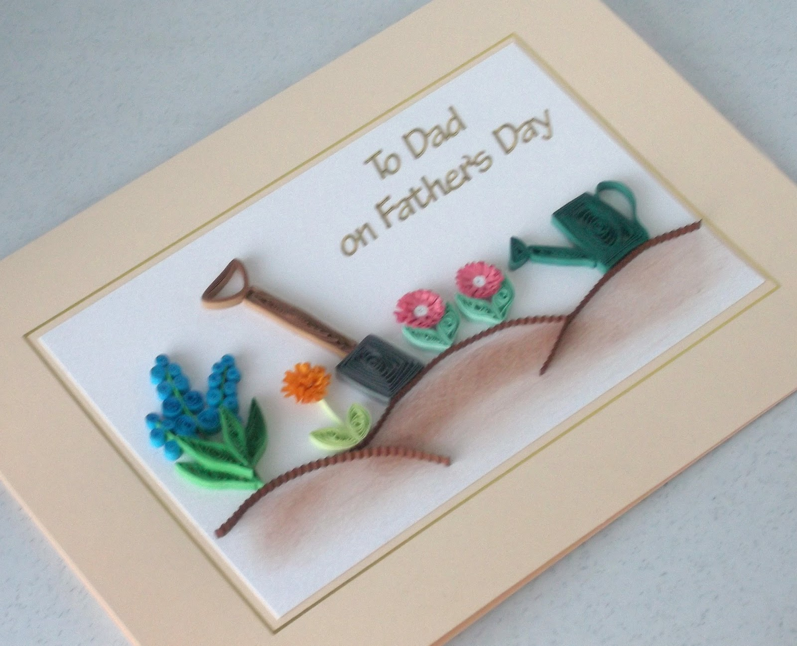 paper daisy cards paper quilling father's day cards