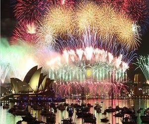 Tempat perayaan tahun baru terpopuler didunia