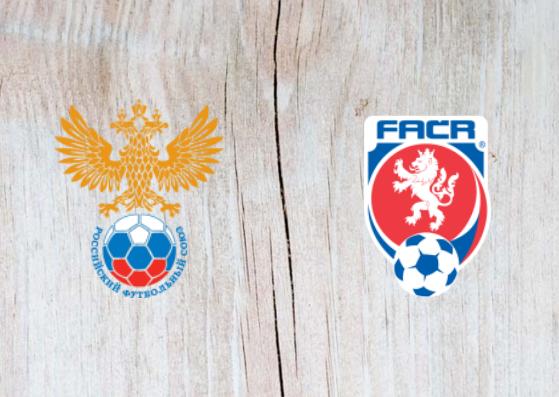 Russia vs Czech Republic Full Match & Highlights 10 September 2018